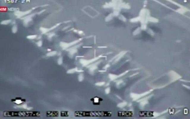 Pourquoi le vol de drone iranien au-dessus d'un supercarrier américain n'est pas une énorme affaire