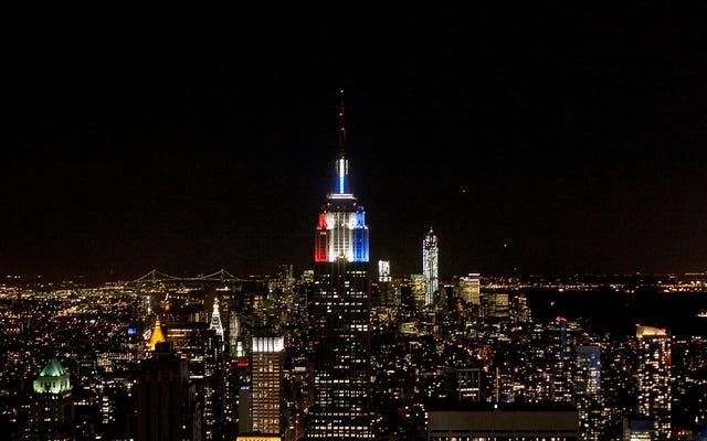 Tòa nhà Empire State Chạy theo Gió