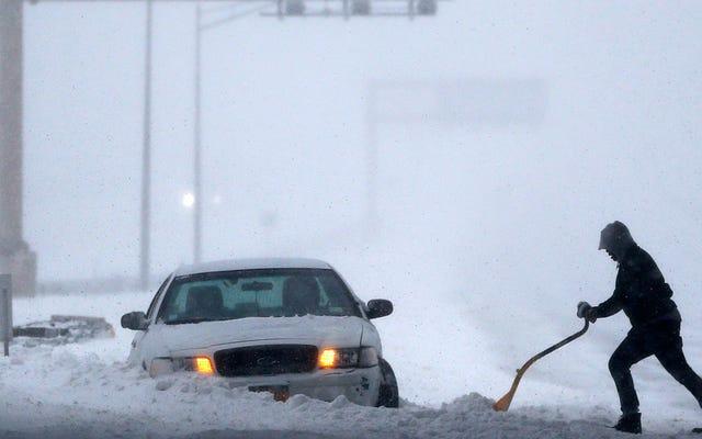 Tus historias de conducción invernales más divertidas y horribles