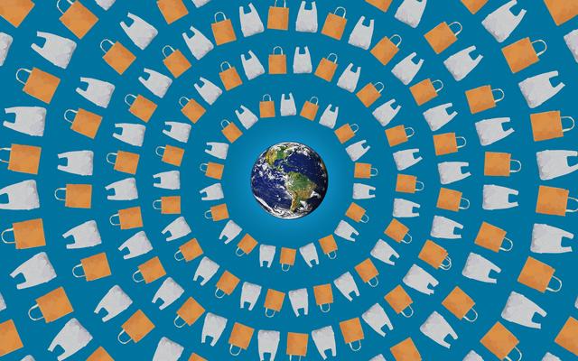 再利用可能なバッグは本当に地球にとって良いのでしょうか?