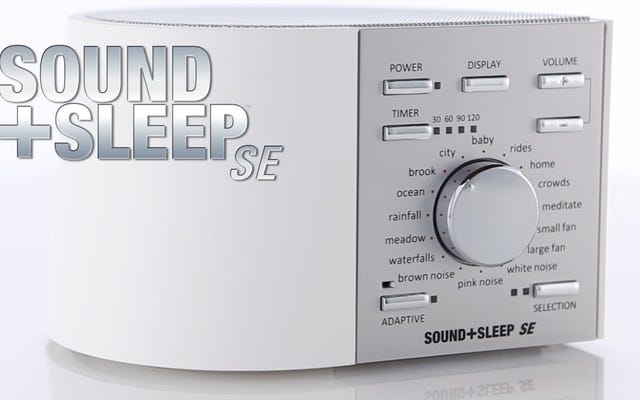 自宅や旅行用のサウンド+スリープホワイトノイズマシンでぐっすり眠る