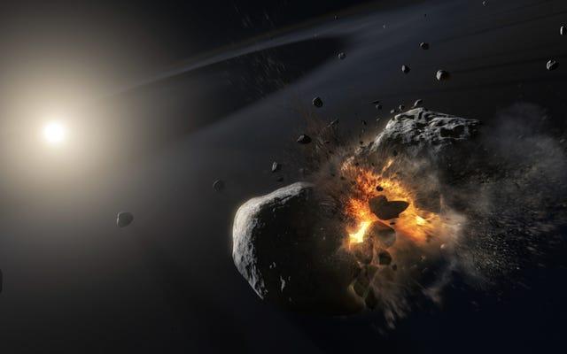 太陽系外惑星の消失は、実際には「超壊滅的な」衝突の余波である可能性があります