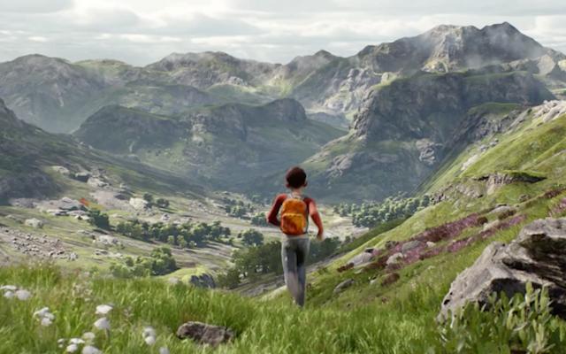 Unreal Engine 4 เก่งมากในการเรนเดอร์ว่าวและอารมณ์