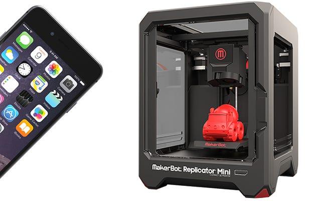 Smartfon może skopiować model 3D, po prostu rejestrując dźwięki drukarki 3D