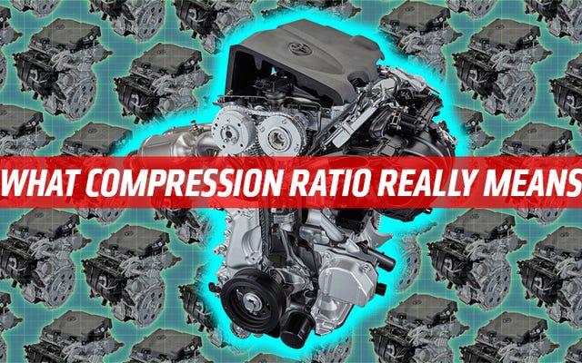 """Ecco cosa significa effettivamente """"rapporto di compressione"""" e perché è importante"""