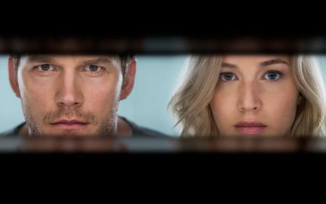 Cómo el casting de Jennifer Lawrence transformó a los pasajeros