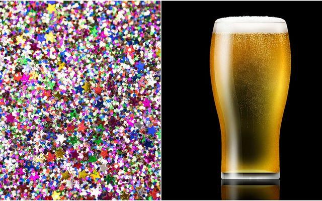 キラキラビールはクラブでよりカジュアルな夜のためにここにあります