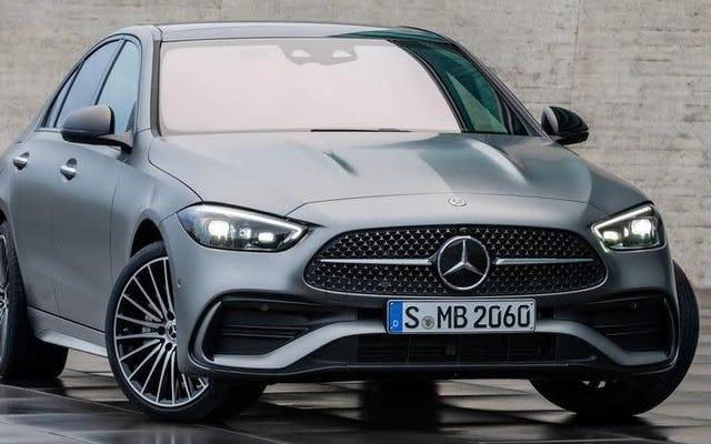 La Mercedes-Benz Classe C 2022 est mieux équipée d'un Hanky en microfibre