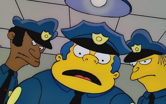 英国の警察はシンプソンズに登場した方法で21人の犯罪者を捕まえます
