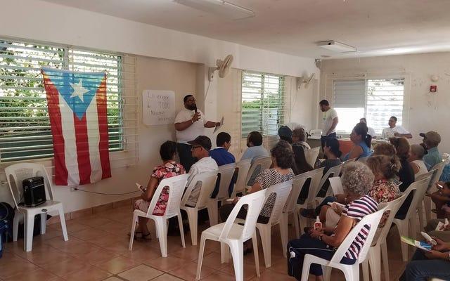 プエルトリコ人は連邦援助のヒラメとして互いに助け合っています