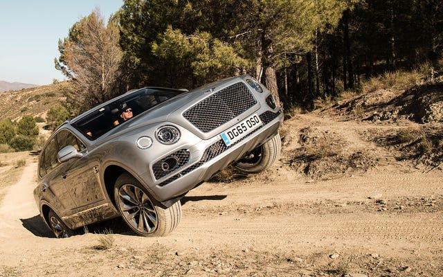 La Bentley Bentayga est la Bugatti Chiron des SUV