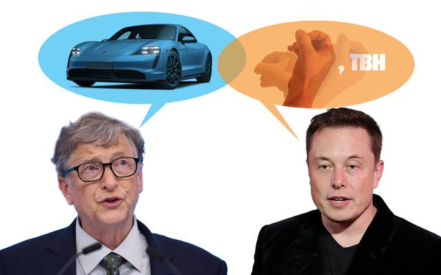 Bill Gates Membeli Porsche Taycan Jadi Elon Musk Harus Membuang Keteduhan Karena Ini Modernitas