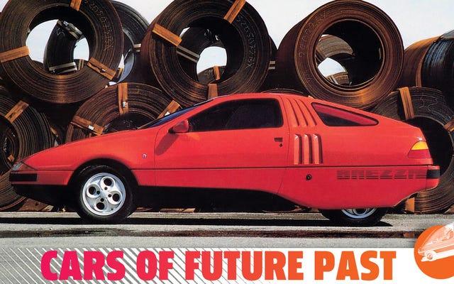 El Ghia Brezza fue el Pontiac Fiero de Ford diseñado por una mujer