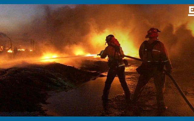 W ten sposób strażacy przygotowują się do walki z pożarami podczas pandemii