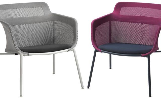 イケアの今、ナイキがニットスニーカーを作るのと同じ方法で椅子を作っている