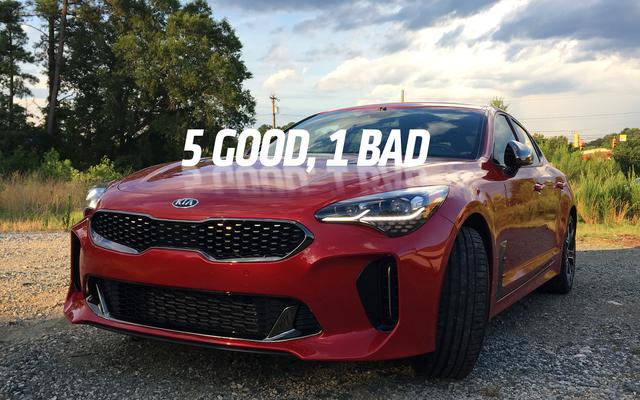 Năm điều tốt về Kia Stinger GT 2018 và một điều tồi tệ