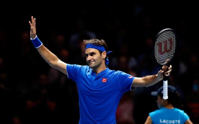 """Ketika Roger Federer Mengatakan """"Lompat,"""" Dunia Tenis Mengatakan """"Seberapa Tinggi? Dan Bisakah Kami Membayar Anda?"""""""