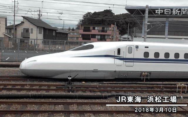 जापान बेहतर डिजाइन के साथ बुलेट ट्रेन के नए संस्करण पर काम करता है, यह ओलंपिक खेलों के लिए तैयार होगा