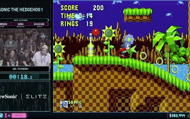 'Sonic Block' от AGDQ воплощает в себе скорость и отношение ежа