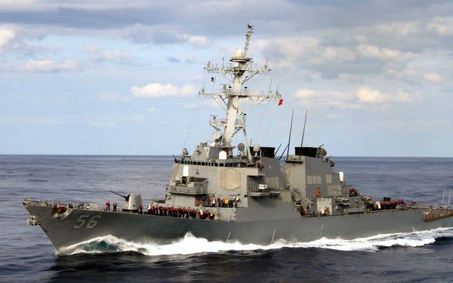 La marine a caché l'USS John S. McCain pour que Trump ne le voit pas au Japon: rapports (Mise à jour: Trump confirme)