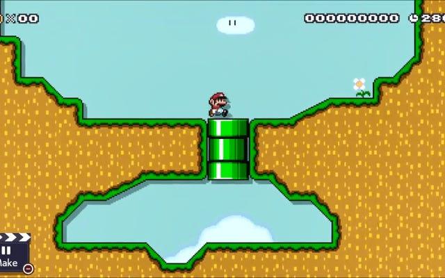 マリオメーカー2グリッチを使用すると、他のゲームスタイルで3Dワールドアイテムを使用できます