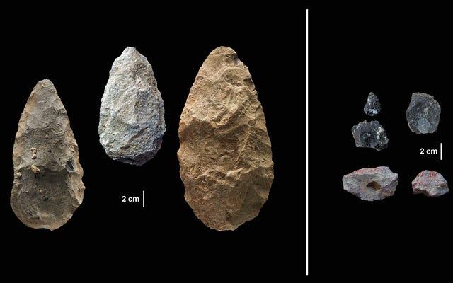 古代の気候変動は、初期の人間に彼らのたわごとをまとめて革新することを余儀なくさせました