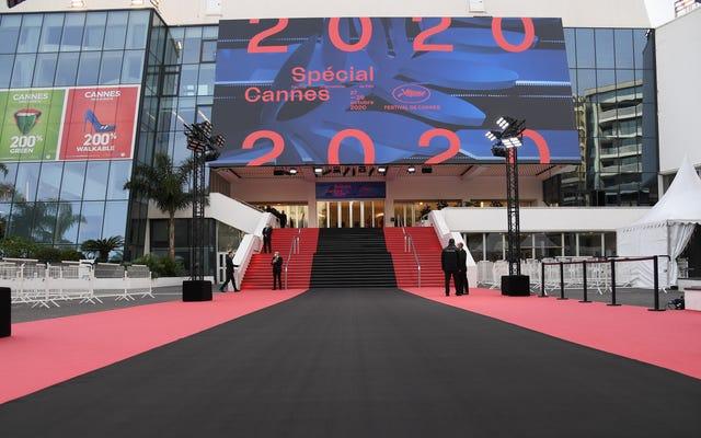 カンヌ2021は7月まで延期されました