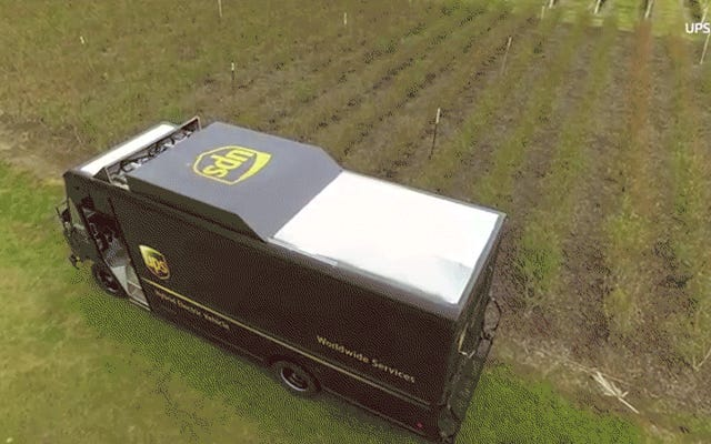UPS presenta un nuevo dron de entrega, lo jode