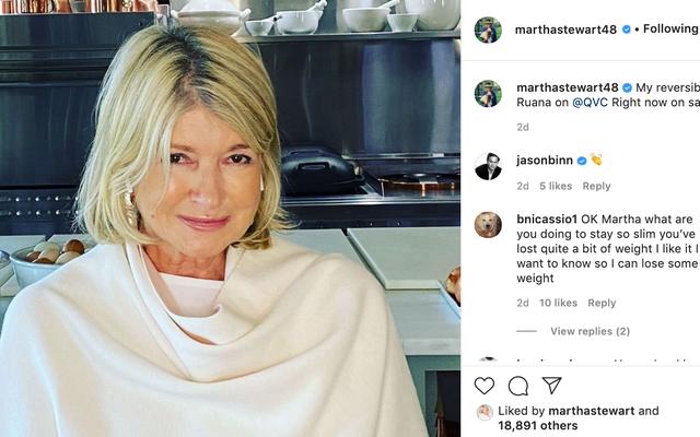L'Instagram Ennui-Drenched de Martha Stewart est mon film d'art sexy préféré