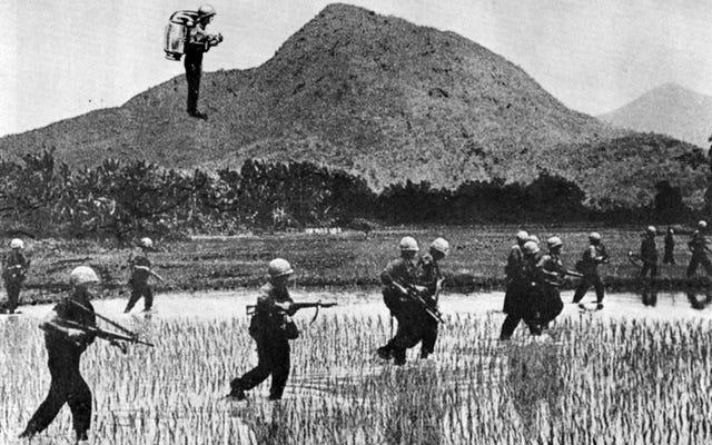 米軍請負業者がベトナム戦争でジェットパックをどのように使用したか