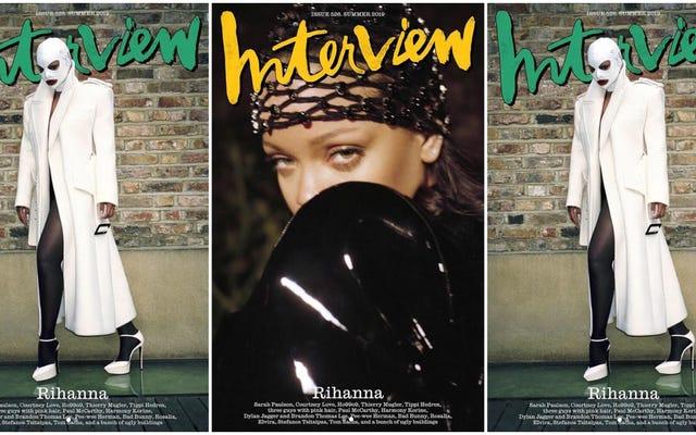 """Alla base di tutto: Rihanna rivela il suo lato """"timido"""", dice che vuole essere una madre """"più di ogni altra cosa"""""""