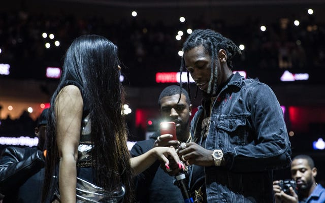 Offset propone a Cardi B Live Onstage en Powerhouse Philly