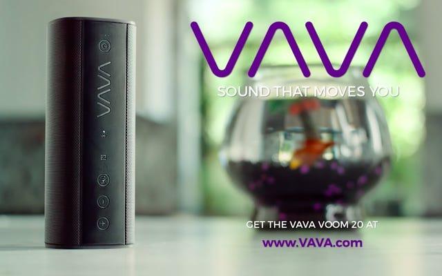 यह रियायती VAVA वूम ब्लूटूथ स्पीकर अपने वजन से ऊपर पंच करता है