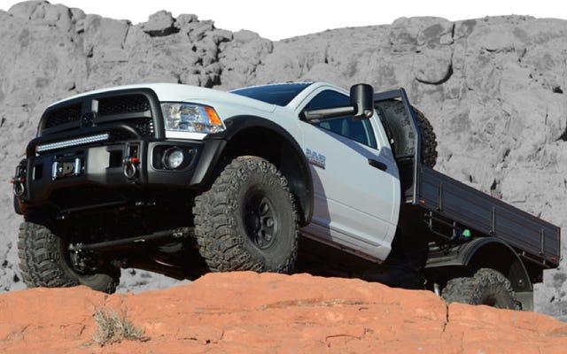 Xe tải làm việc AEV Ram rất nam tính, bạn sẽ có thai khi nhìn vào nó