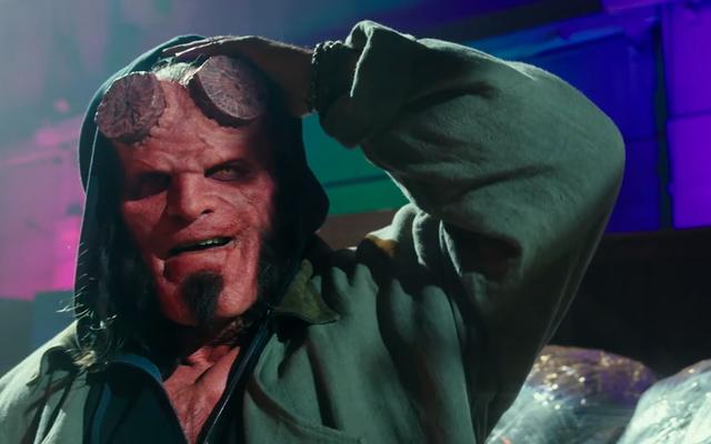 La première bande-annonce de Hellboy est un enfer d'une course sanglante et remplie de monstres