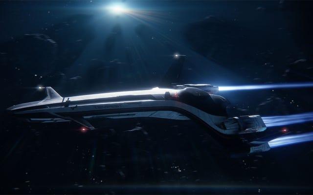 私はビデオゲーム(そして実際の生活)で自分の宇宙船を持つのが大好きです