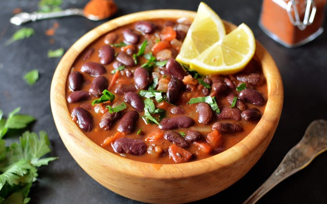 Faites cuire vos haricots secs avec le zeste d'agrumes