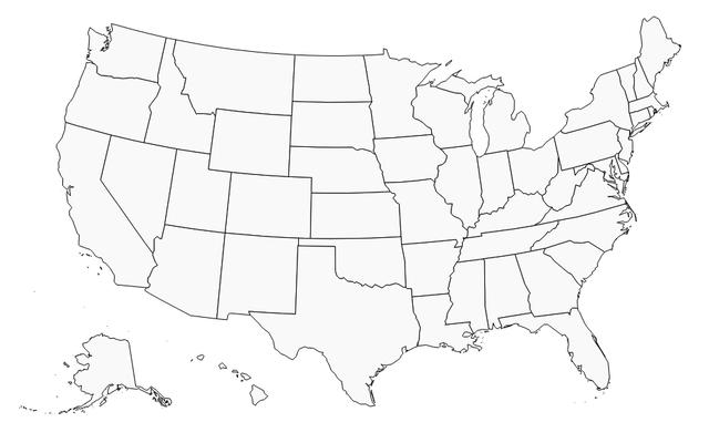 Les régions des États-Unis