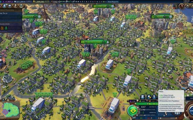 Peradaban Kota VI Memiliki Lebih Dari Dua Miliar Orang