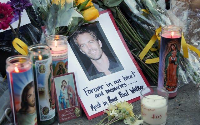 Haga un viaje al interior del mundo de las exposiciones de autos tributo a Paul Walker