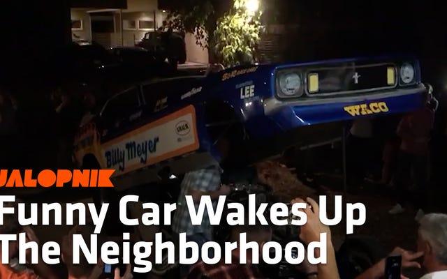 To nie jest impreza, dopóki ktoś nie odpali zabawnego samochodu strzelającego płomieniem na podjeździe