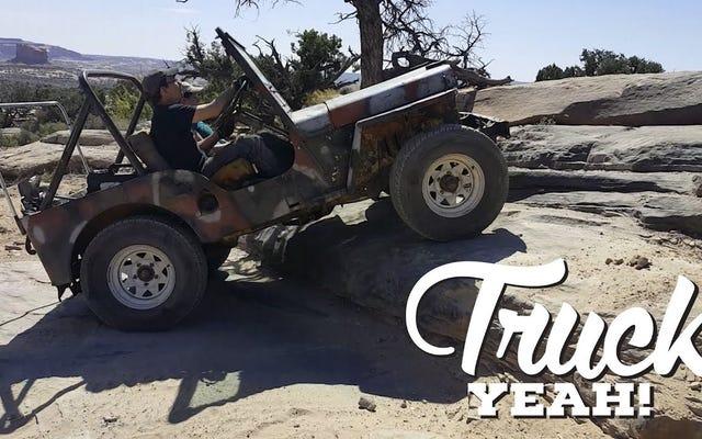 Comment ma Jeep Rusty de 1948 Farm a défié des Wranglers de 50000 $ sur les sentiers de Moab