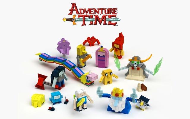 数学!レゴはついに冒険の時間セットを作っていることを明らかにする