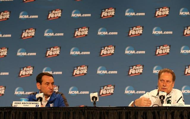 大学バスケットボールの最高のコーチは答えを持っていません