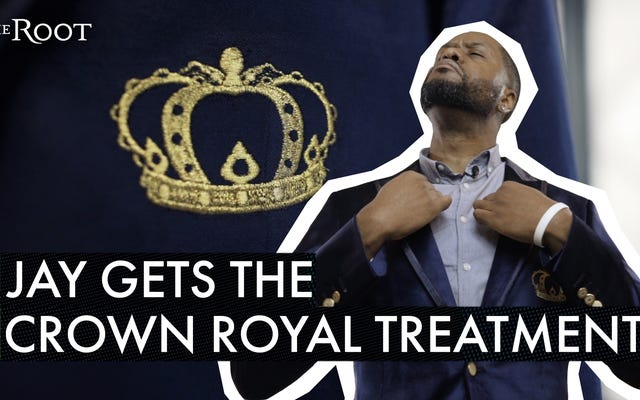 黒の王族のためのブレザー:クラウンロイヤルは新しいスリックブレザーをリリースし、YaBoyはそれを試しました