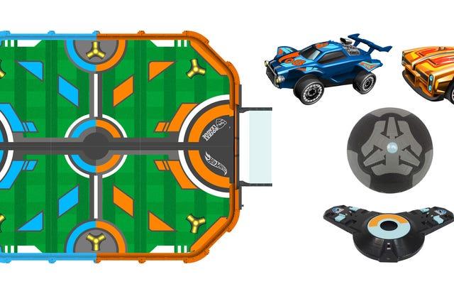 Hot Wheels ha realizzato una versione reale di Rocket League con minuscole auto RC