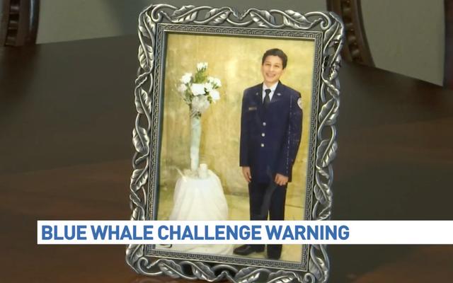 自殺で亡くなった10代の両親は、オンラインチャレンジで死を非難している