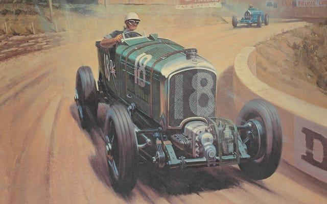 El coche más famoso de Bentley no consiguió ganar