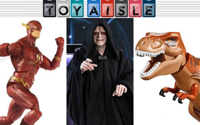 非常に豪華な皇帝パルパティーン、そして今週の最もクールなおもちゃの詳細