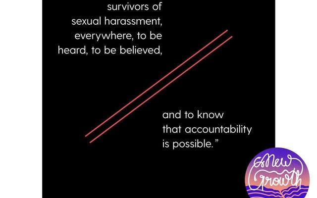 #WomanCrushÇarşamba: #TimesUp Kadınları Cinsel İstismarı Yıkmak ve Hollywood'un Ötesinde Oyun Alanını Dengelemek İçin Nasıl Çalışıyor?